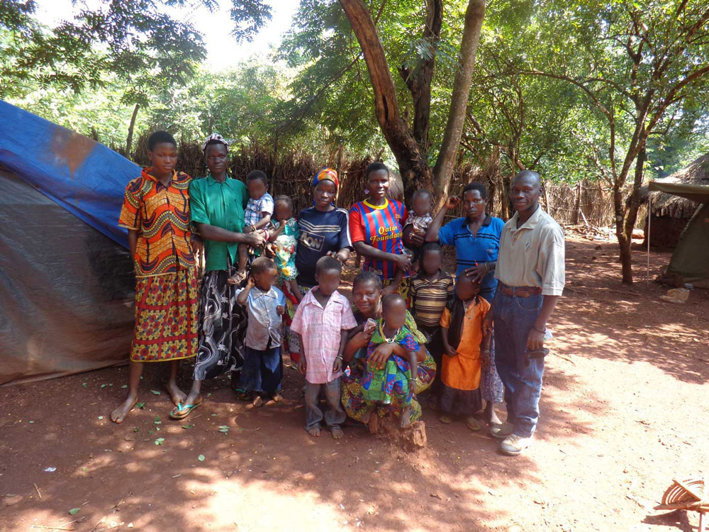 Group of 13 released women and children, August 9