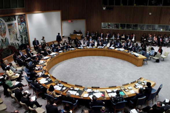 The United Nations Security Council. Photo credit: Reuters.